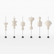 Nendo presents inside-out Hyouri lanterns at virtual Life in Vogue exhibition