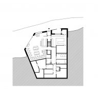 Lower ground floor plan, Ibex Museum St Leonhard