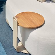 Tables fit over the chair