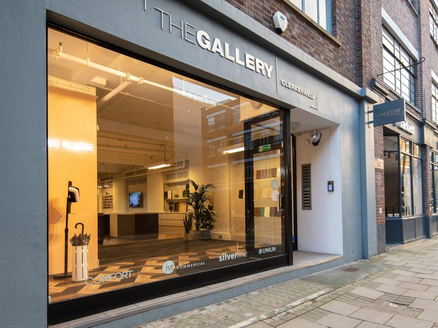 Exterior of The Gallery Clerkenwell