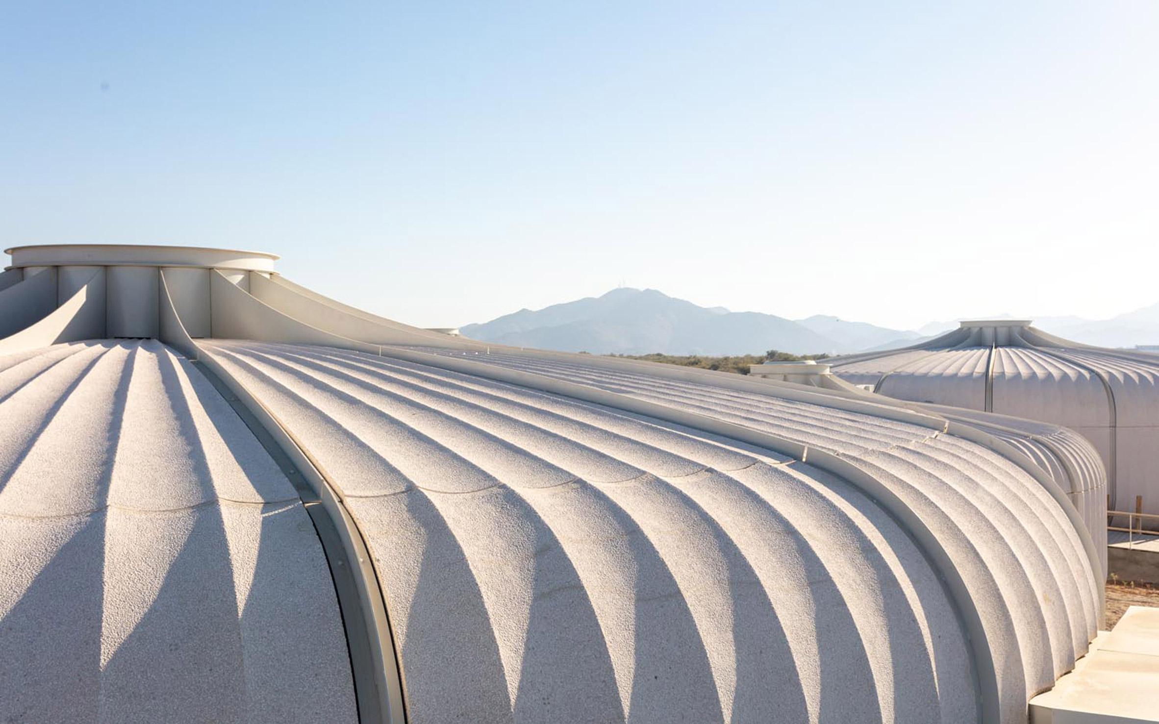 Prefabricated concrete pods