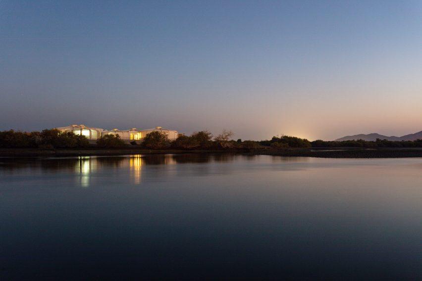 Lagoon in Sharjah