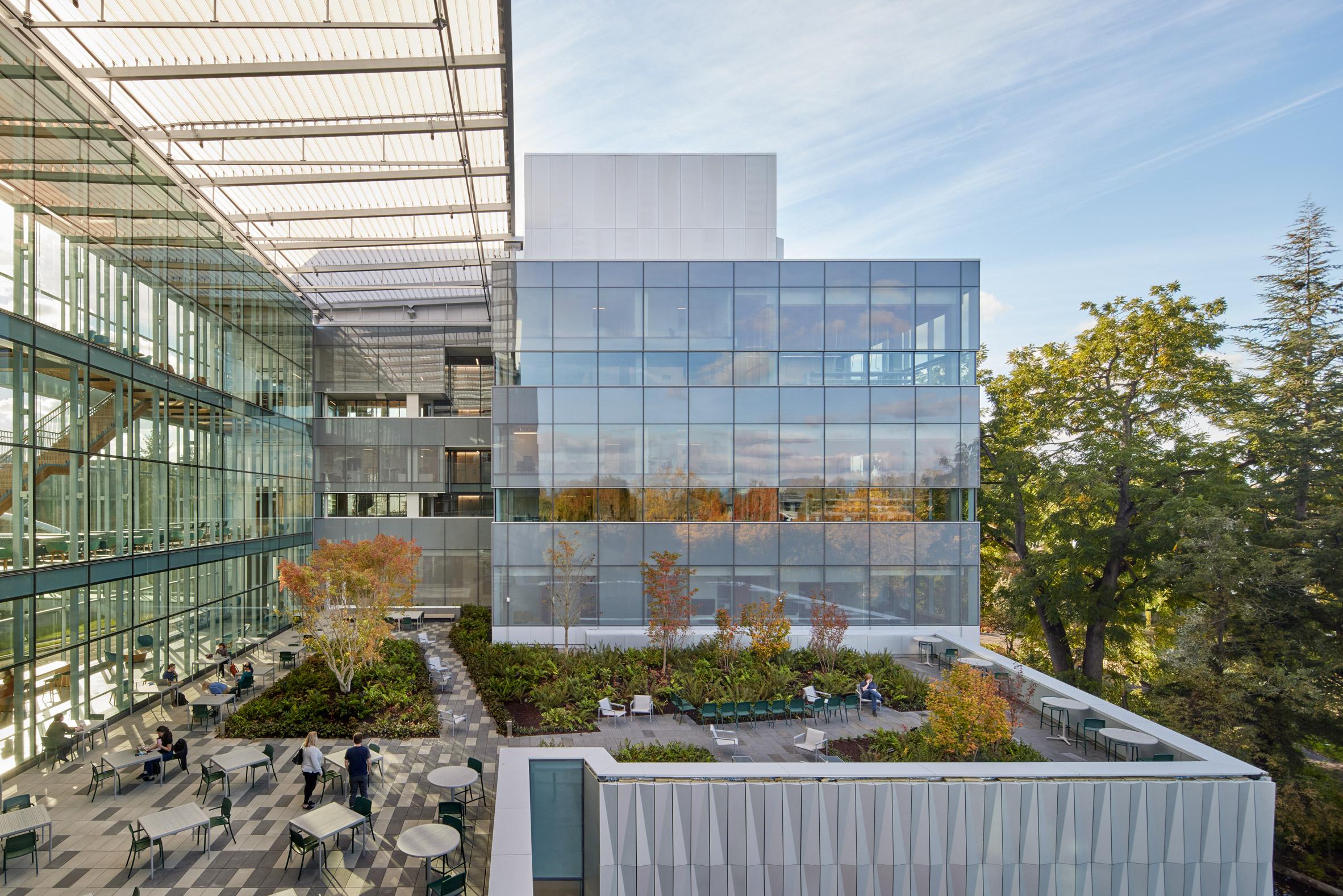 Oregon university facility exterior