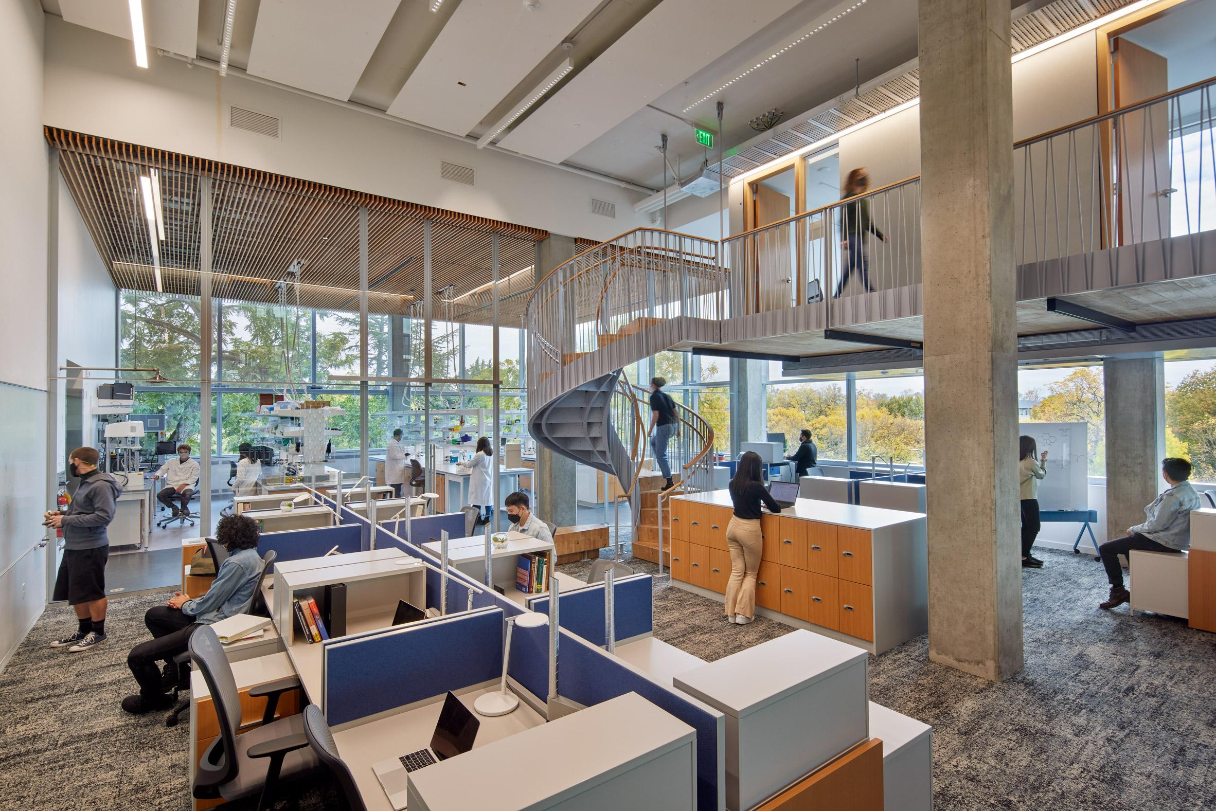 Ennead Architects and Bora Architecture & Interiors design university building