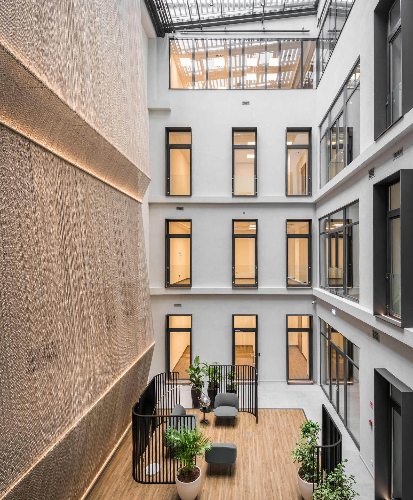 Kriskadecor installed at KI20 Business Centre by MadiLancos Studio.