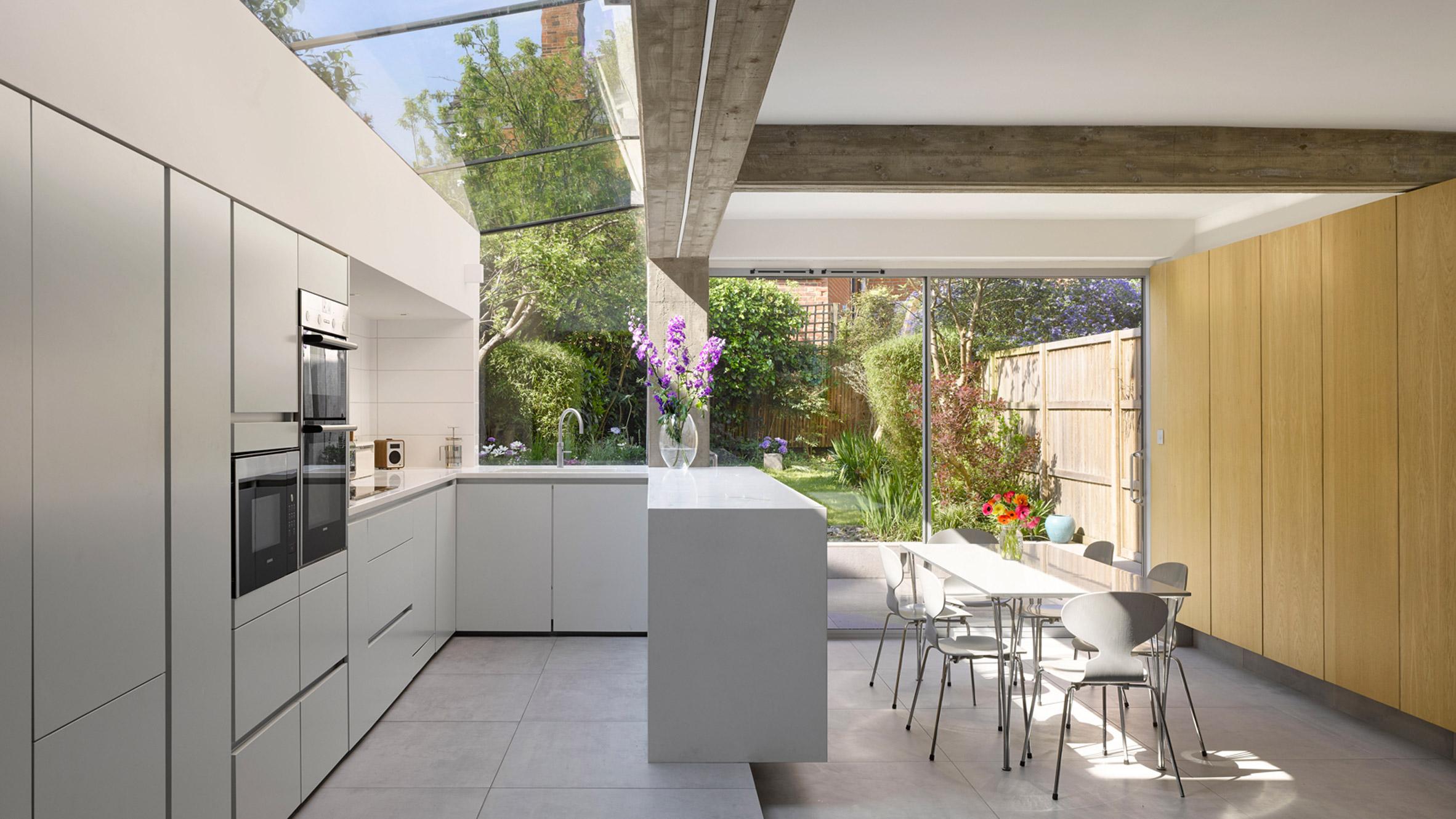 Kitchen in Tibur House by Paul Archer Design