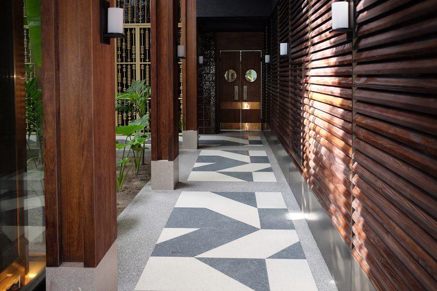 Lixio flooring is by Ideal Work