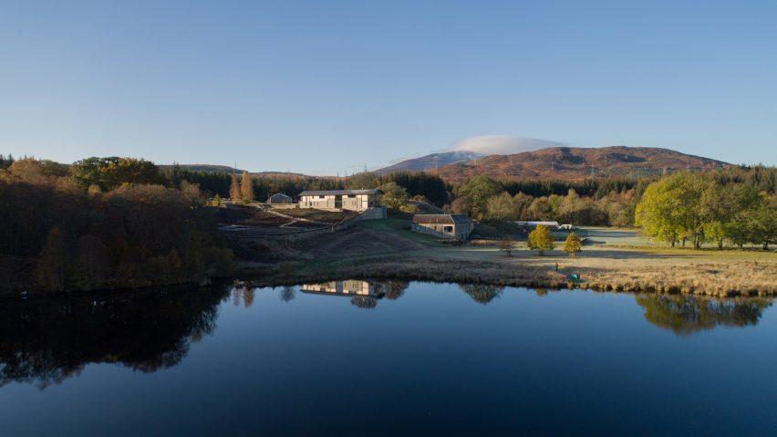 House overlooking Loch Tummel