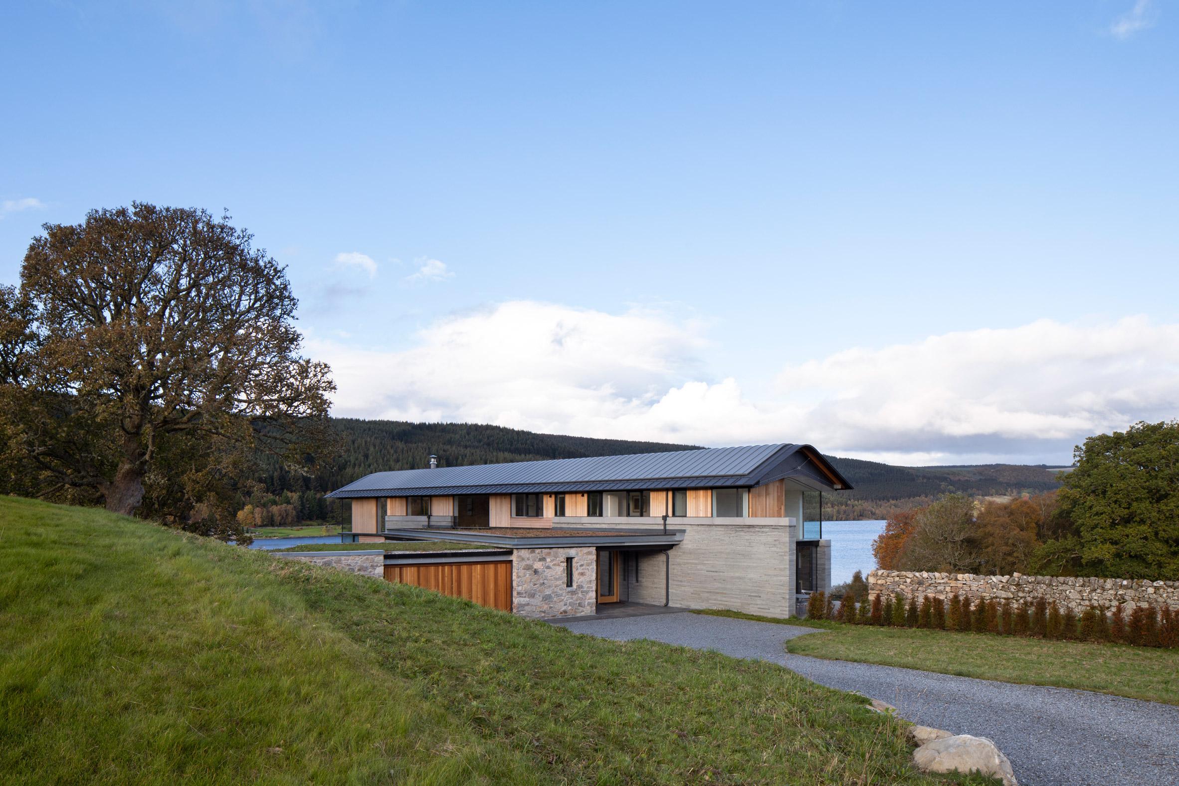 Entrance to Scottish house