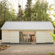 Maine studio 30X40 Design Workshop builds own home office