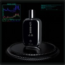 The fragrance is accompanied with a digital artwork