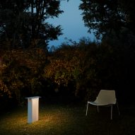 "Luceplan expands ""nomadic"" lighting collection for indoor-outdoor living"