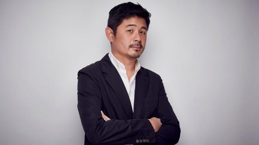 Aric Chen, portrait by Mark Cocksedge