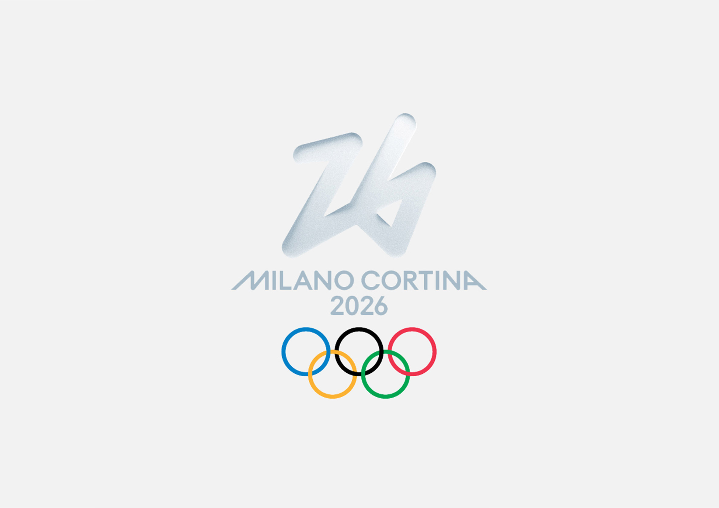 The 2026 Winter Olympic Games has an angular design