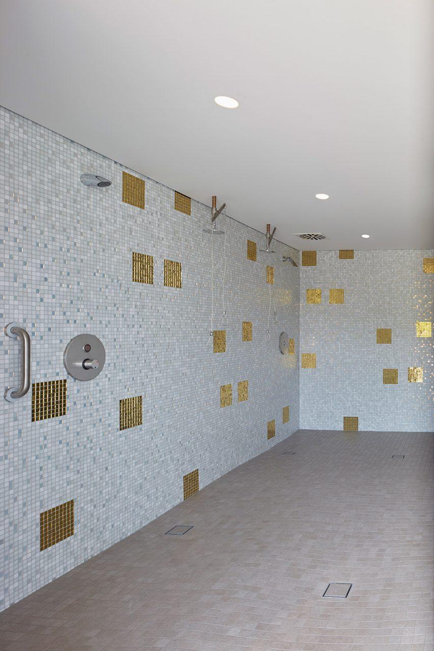 Shower block in Stuttgart