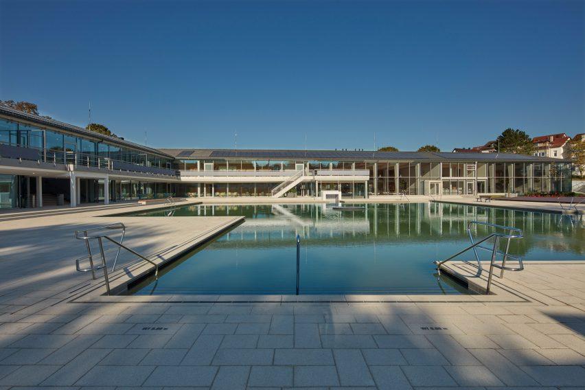 Stuttgart's Bad Berg mineral baths