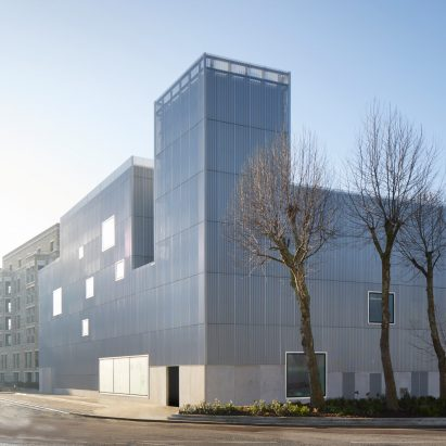 Morris + Company combines energy hub and nursery in block that is