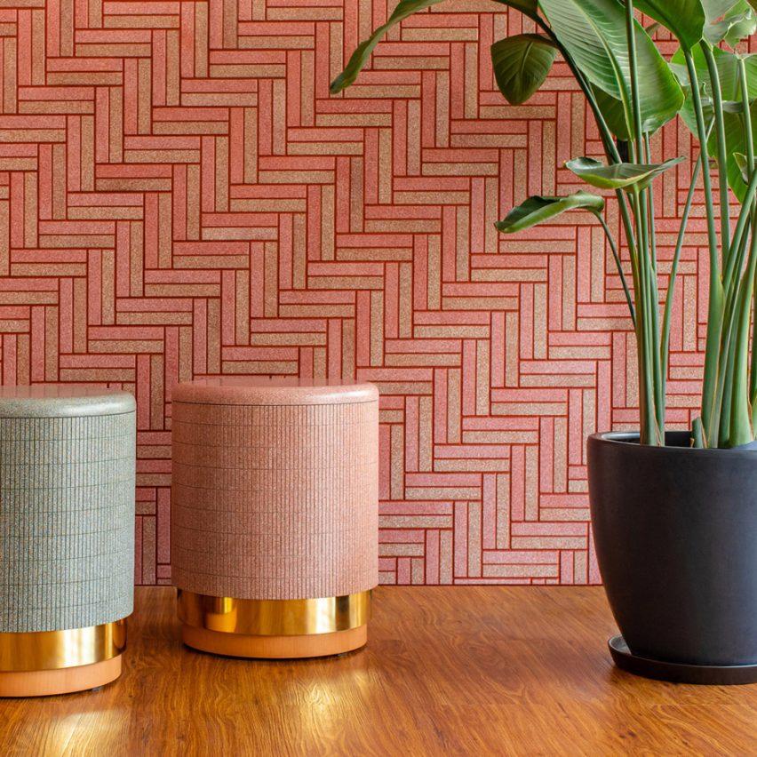 Tiles made from egg shells