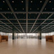 Inside the Neue Nationalgalerie