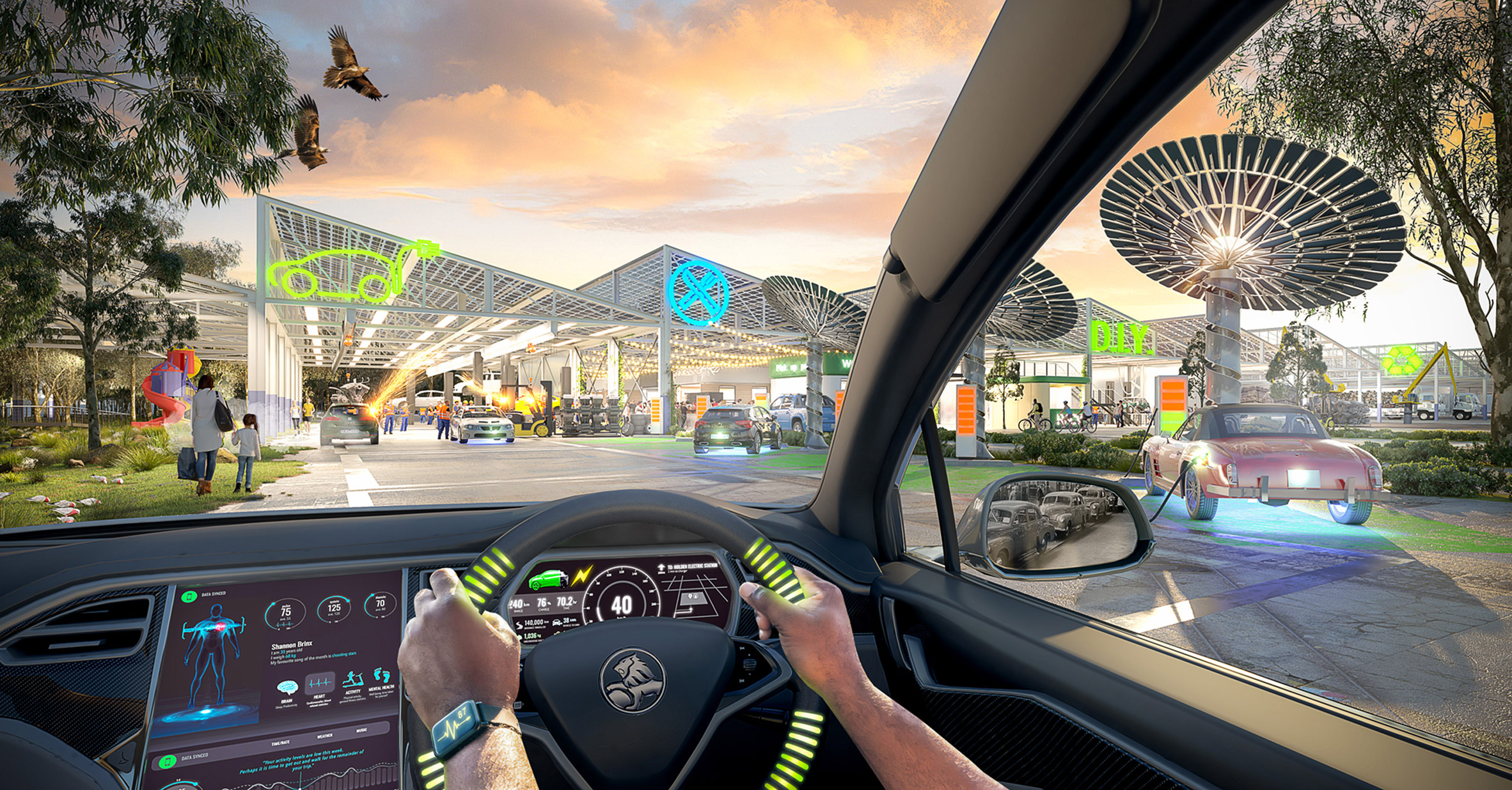 Electrify Transport: Car Conversions by Grimshaw, Greenshoot and Greenaway Architects