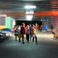Energy Storage: Multi-level car park battery bank by Hassell