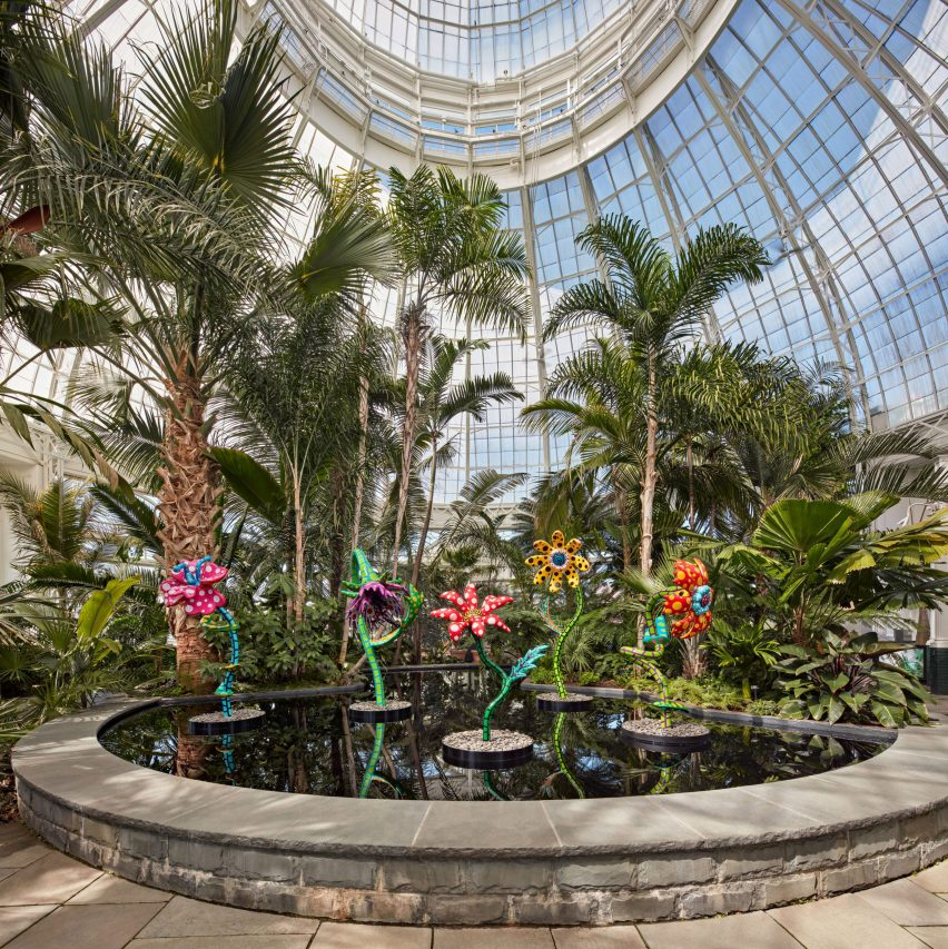 My Soul Blooms Forever in the conservatory of the New York Botanical Garden