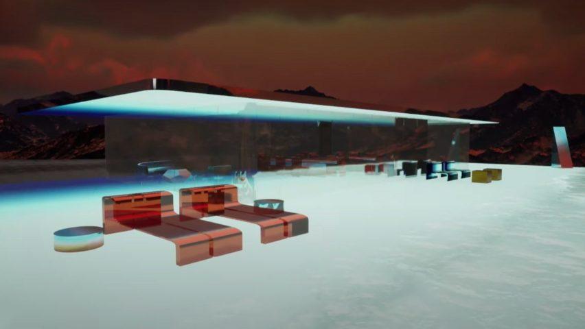Mars House for Aaron Betsky's NFT column