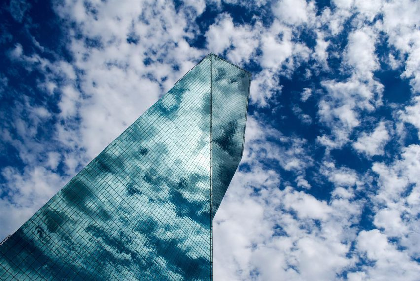 The sky is used as inspiration for Structure Photography