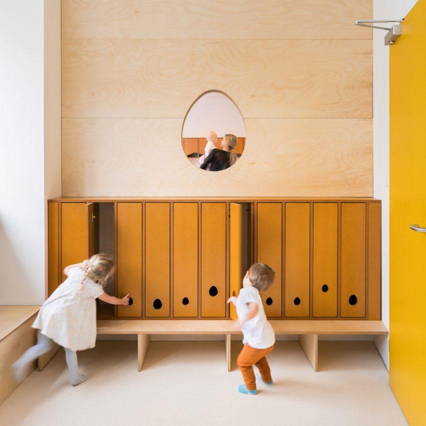 Malvína Day Nursery in Prague by No Architects
