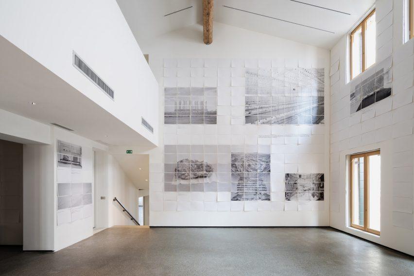 Non-extractive architecture exhibition  - non extractive architecture exhibition dezeen 2364 col 6 852x568 - Space Caviar launches Non-Extractive Architecture manifesto