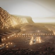 This week Abiboo envisioned a city on Mars for quarter of a million people