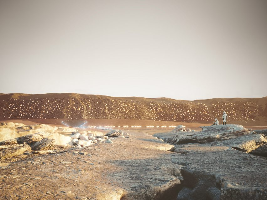 Mars city Nüwa would be built into a diff