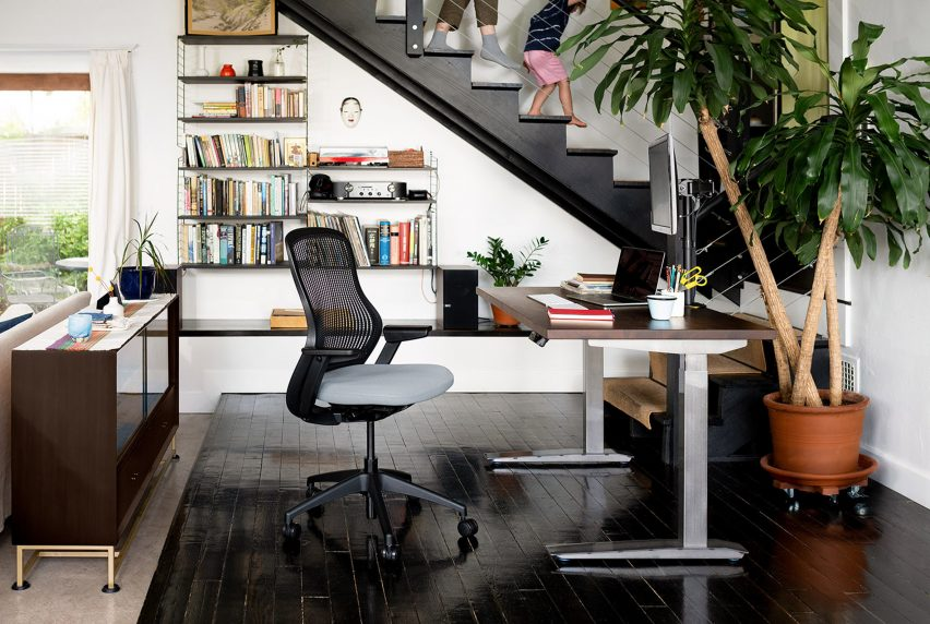 An office chair by Knoll