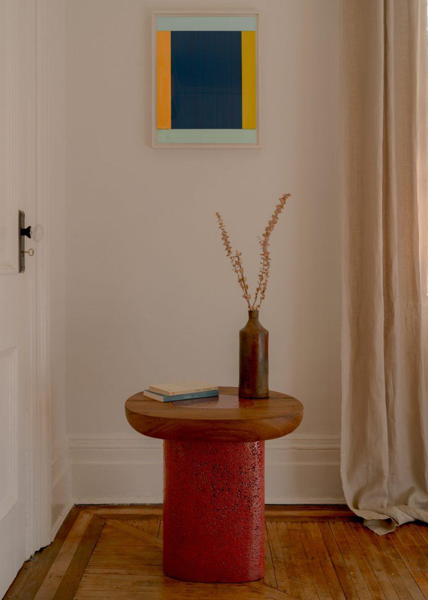 Ian Felton stool