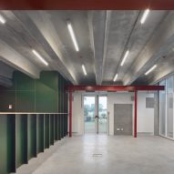 The interiors of the Paddenbroek Education Centre
