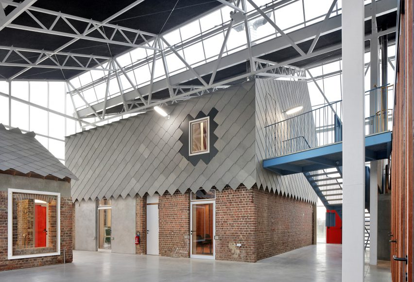 A refurbished agricultural building in Belgium