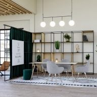 Palisades II space dividers by Spacestor