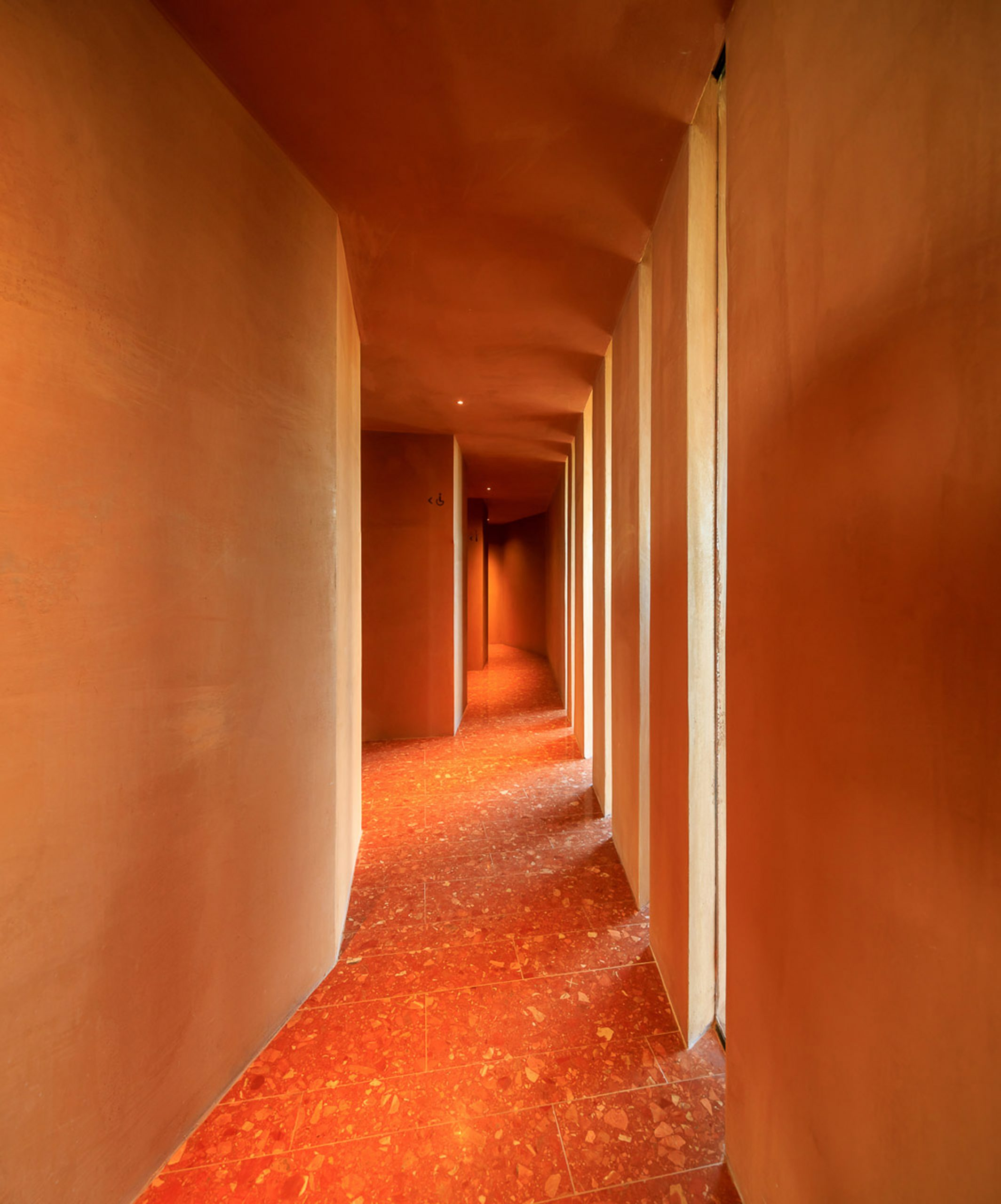 Interior of Palmares Clubhouse by RCR Arquitectes