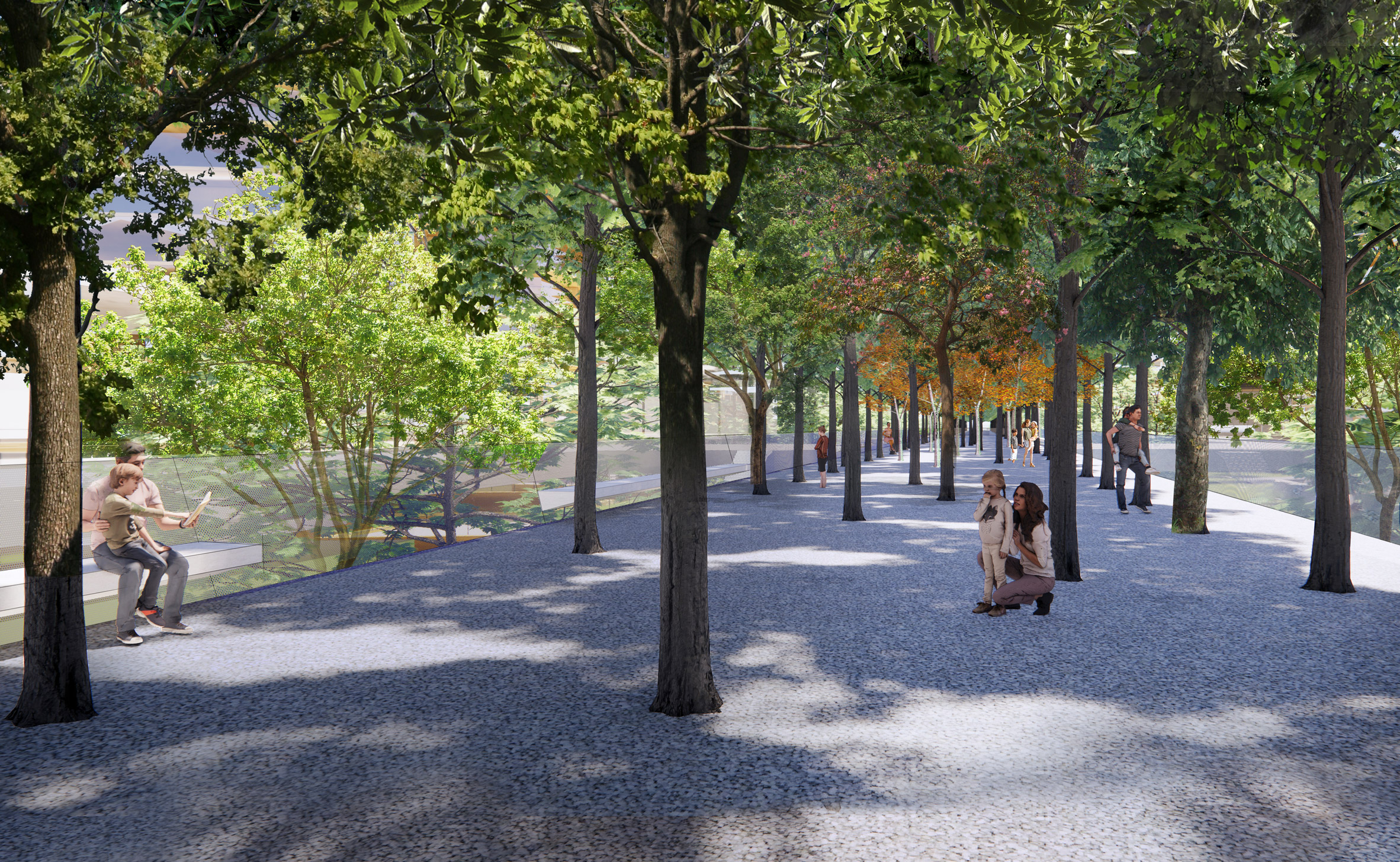 Parco Romana Green Neighbourhood will have an elevated linear park