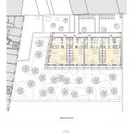 Paris apartment block plans