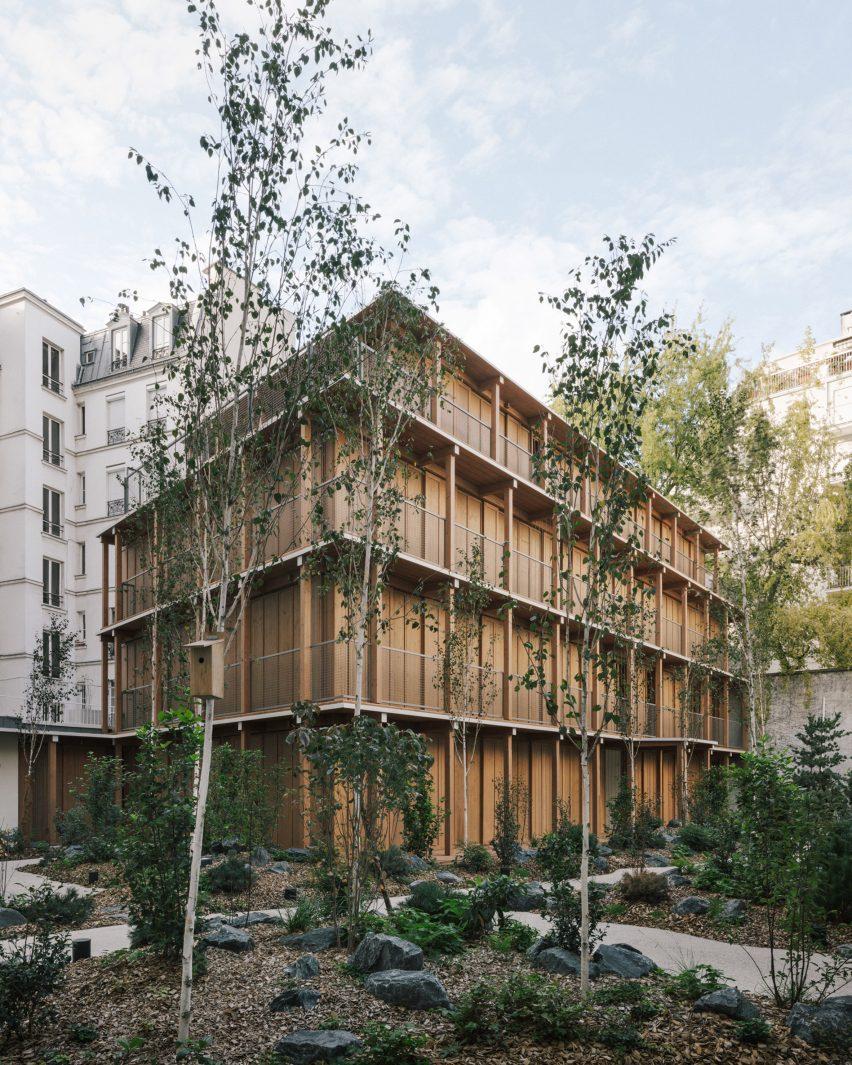 Mars Architectes' building in Paris' 12 arrondissement