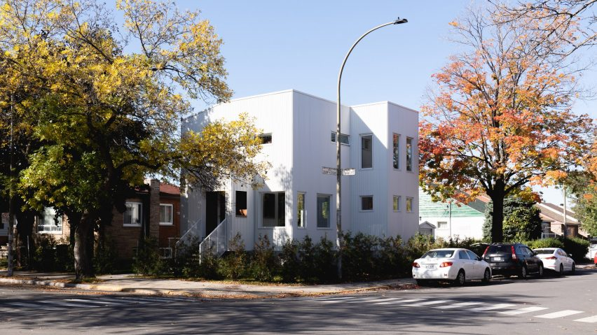 Park Ex House by Nicholas Francoeur and Joel Fontaine Lortie