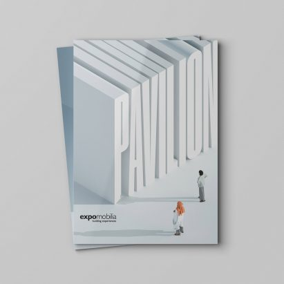 The front cover of Pavilion magazine