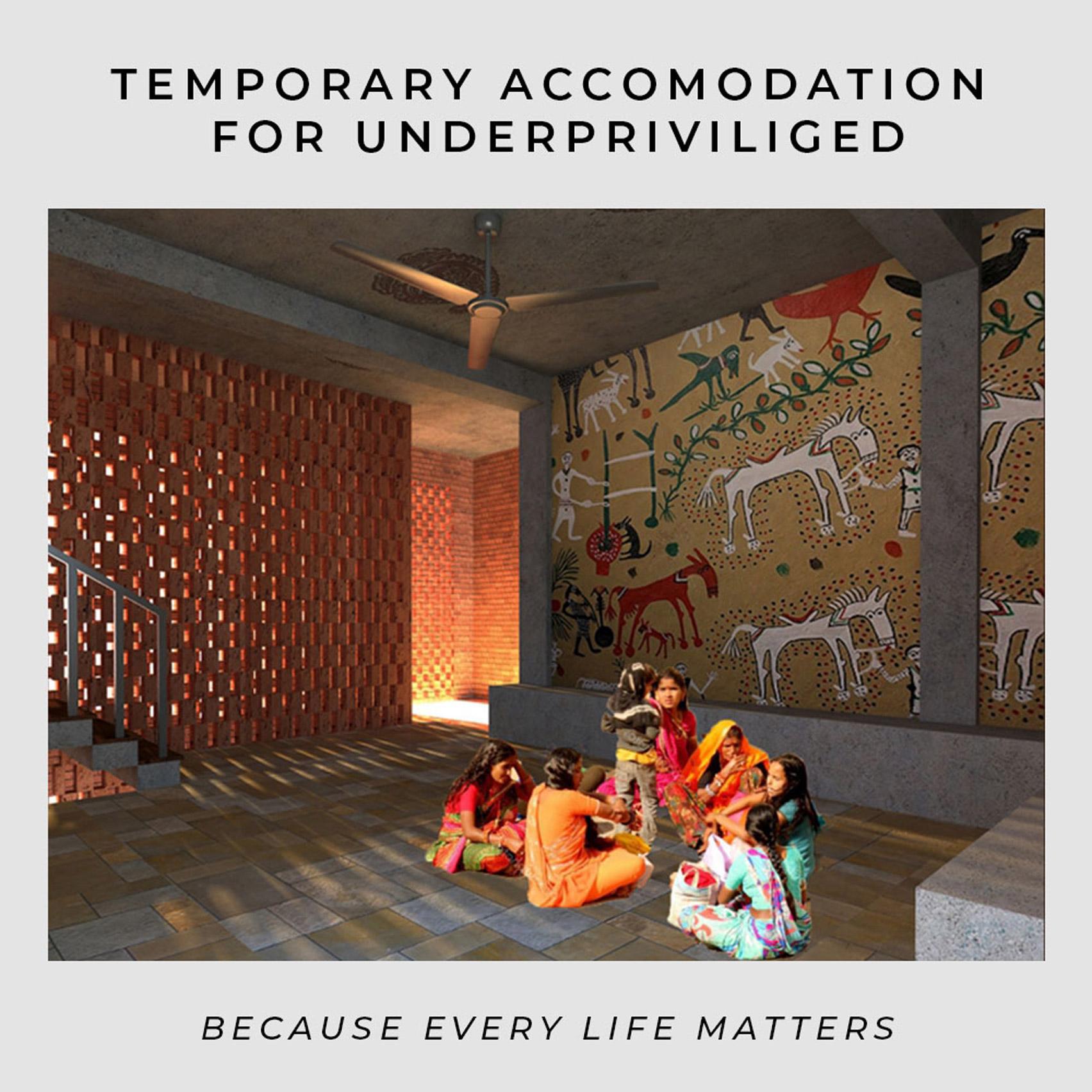 A visual of Basera temporary accommodation