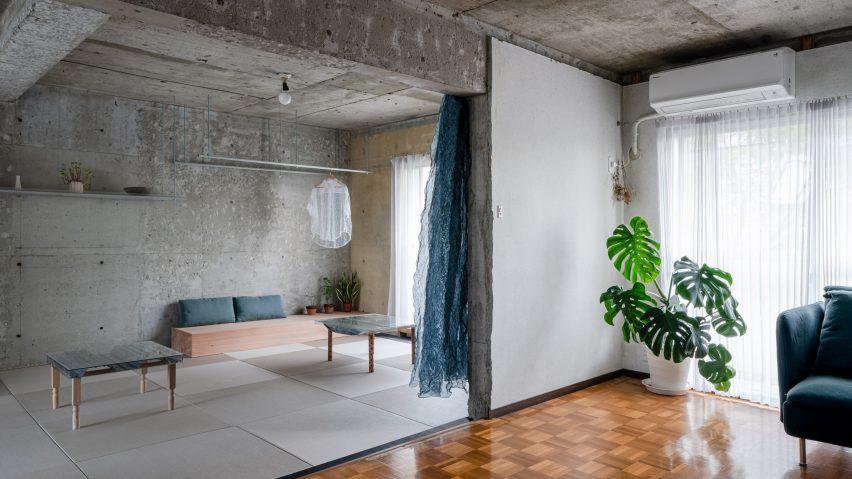 Reception room by Nanometer Architecture