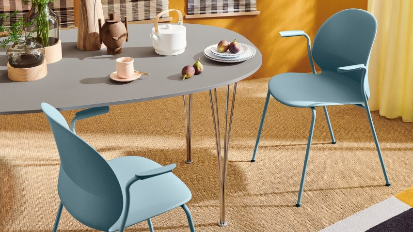 N02 Recycle chair by Fritz Hansen and Nendo