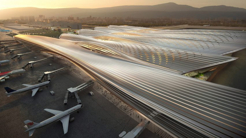 Shenzhen Boa'an Airport by Rogers Stirk Habour + Partners