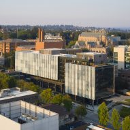 Glazed fins wrap Seattle's Rosling Center by Miller Hull Partnership