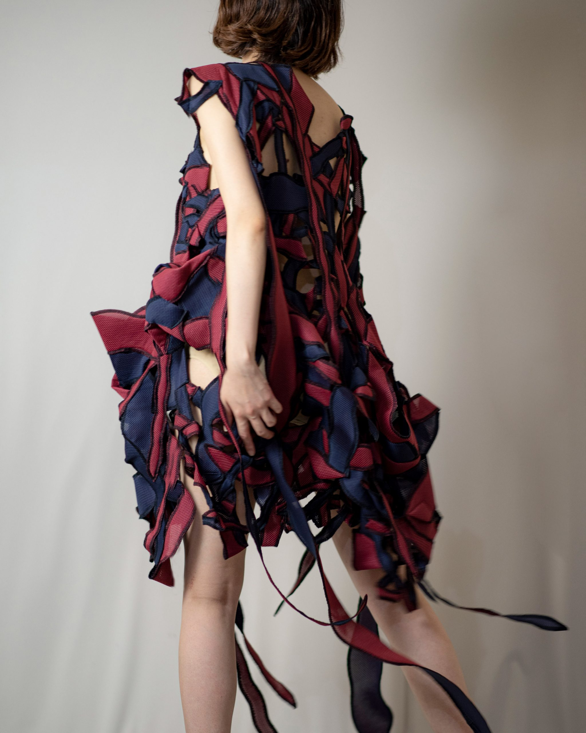 Garments have a kinetic quality to them