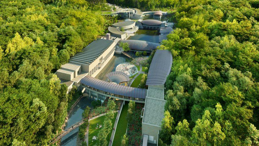 Crystal Bridges Museum of American Art by Safdie Architects